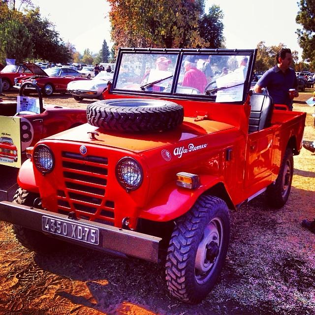 Alfa Romeo AR51 4x4. Italy's Answer To Willys Jeep. #alfa