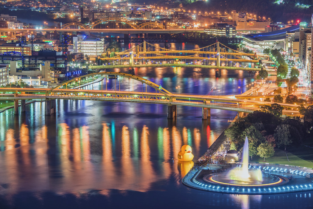 Pittsburgh bridges and...