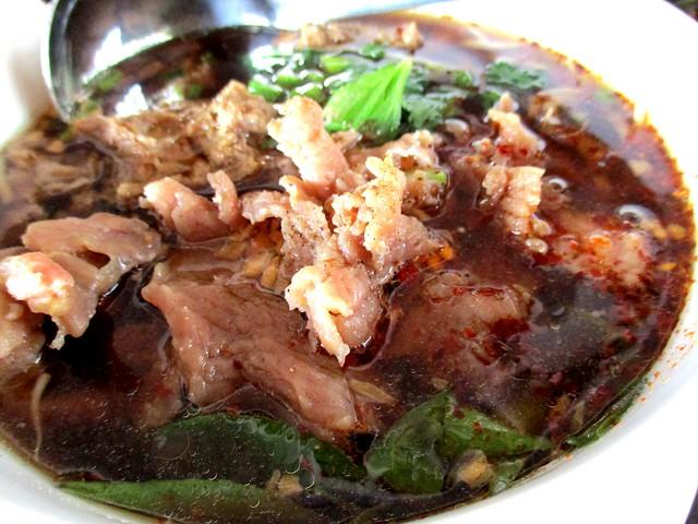 Flavours Thai Kitchen beef noodles 2