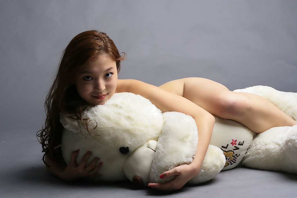 With bears ladies naked furry teddy
