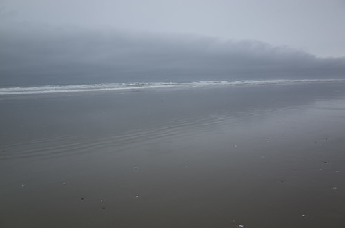 rain clouds near Florence Oregon