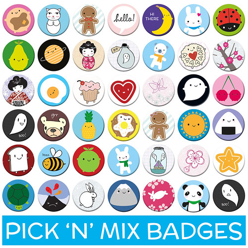 Pick 'n' Mix Badges