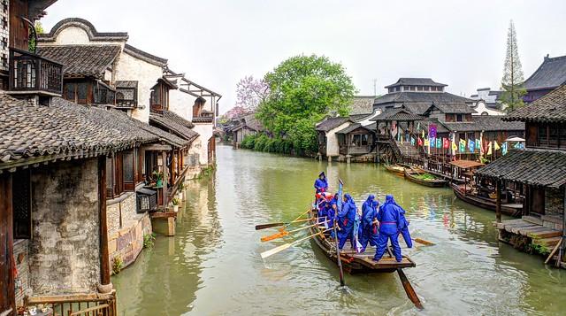 Cina, Shanghai, Wuzhen
