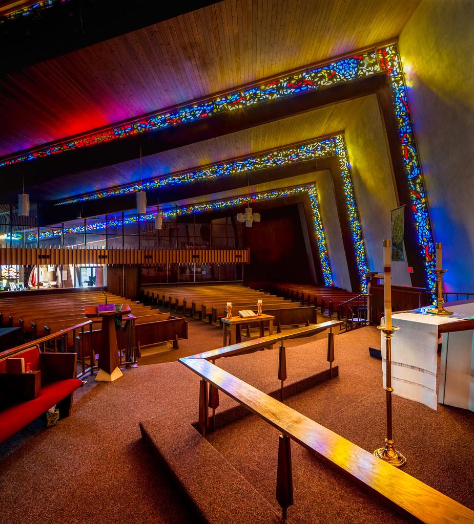 Clairemont lutheran church interior view of the - San diego interior design center ...