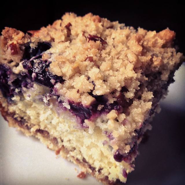 old-fashioned blueberry coffee cake | Flickr - Photo Sharing!