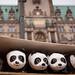 Friendly 1600 strong Pandas invasion in Hamburg - Fuji X100S