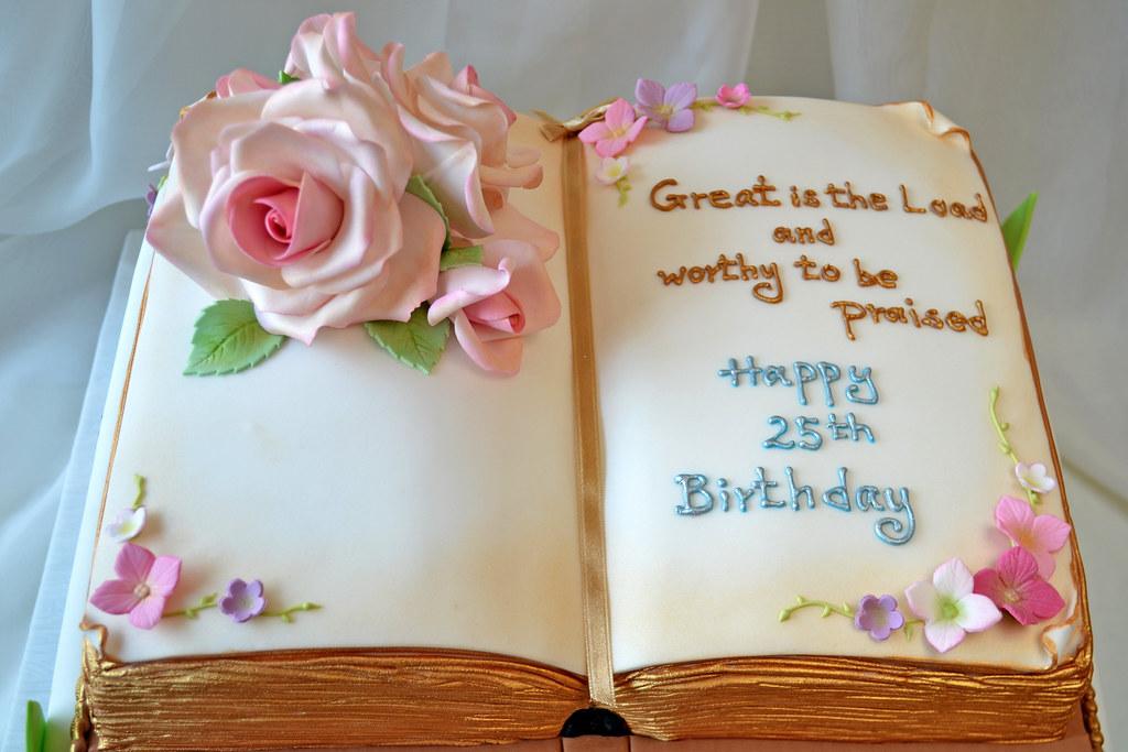 Birthday Bible Cake