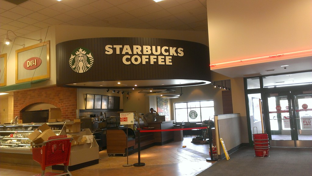 Super Target Ankeny Iowa Newly Remodeled Starbucks Flickr