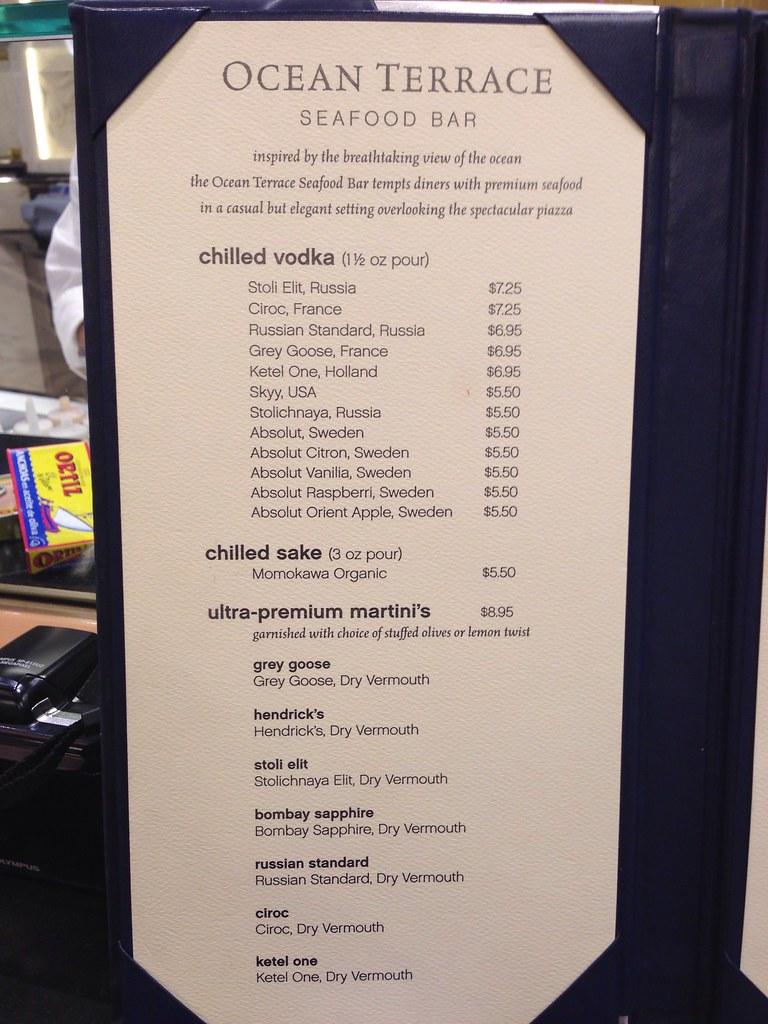 Viking River Cruise Drink Prices