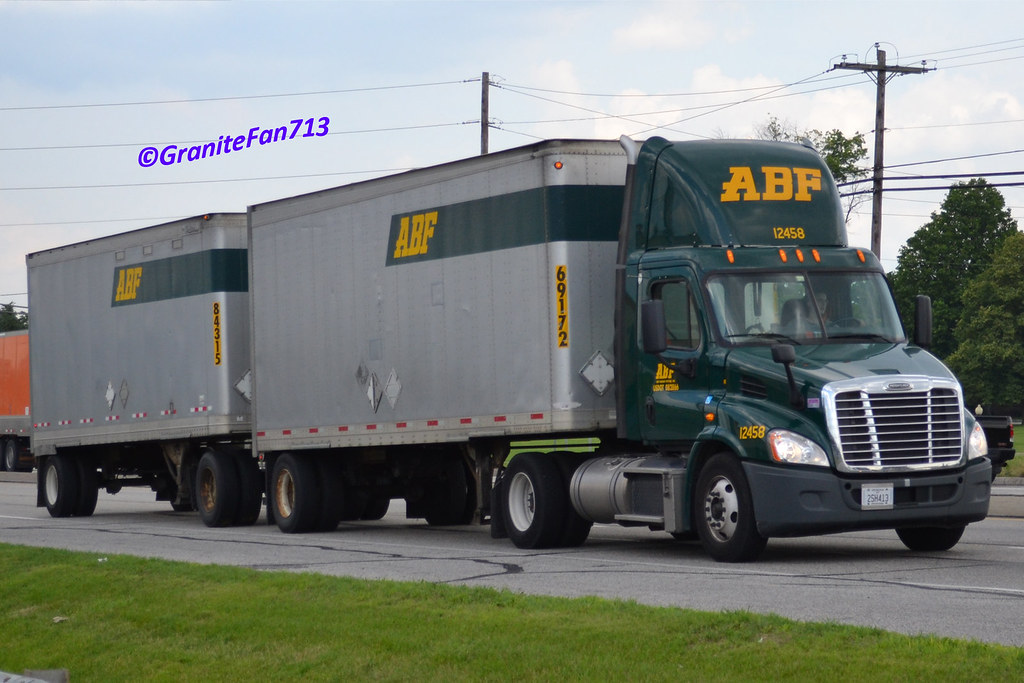 ABF Freight Freightliner Cascadia | Trucks, Buses, & Trains by granitefan713 | Flickr