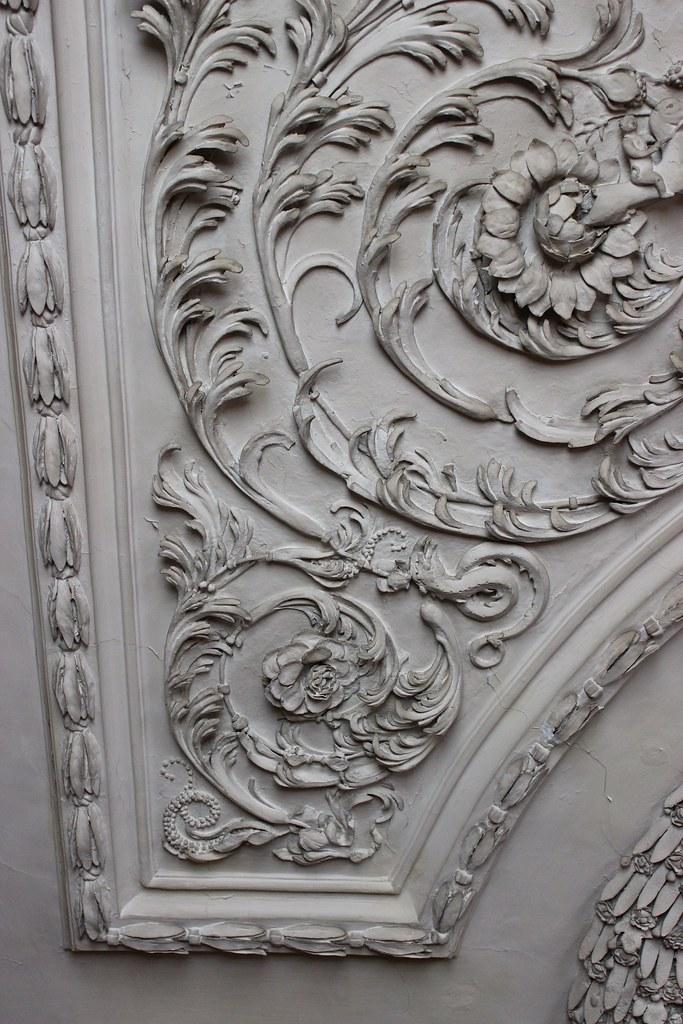 Plasterwork Ceiling In The Queen S Bedchamber At Ham House