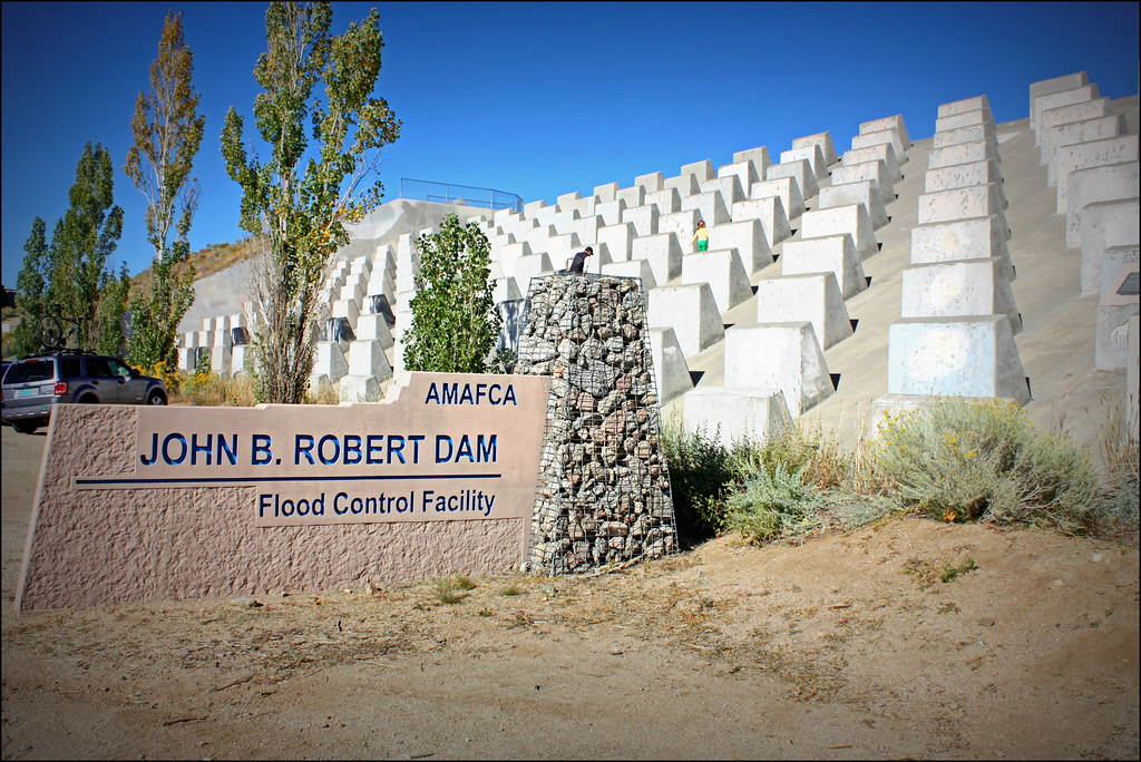 Flood Control Dam Flood Control Facility