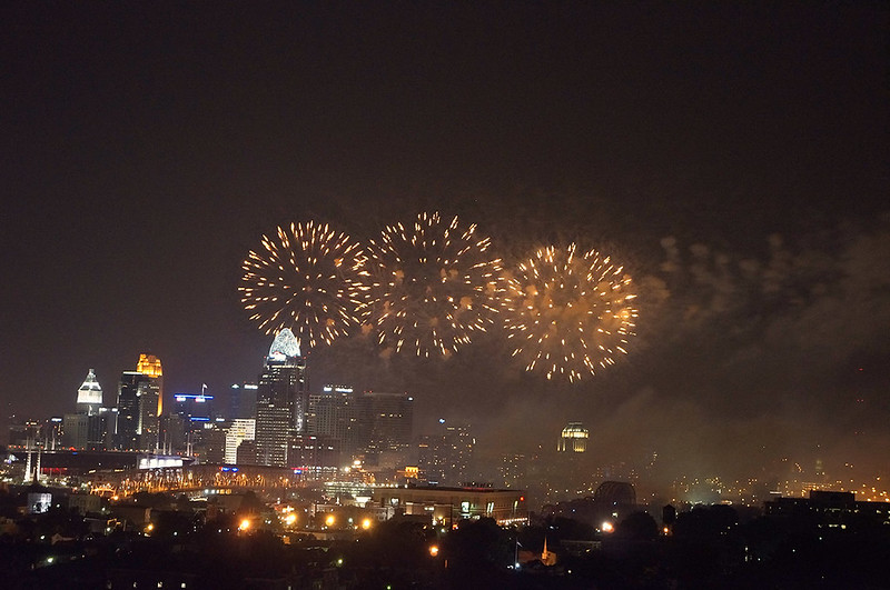 Firewoks @ Cincinnati