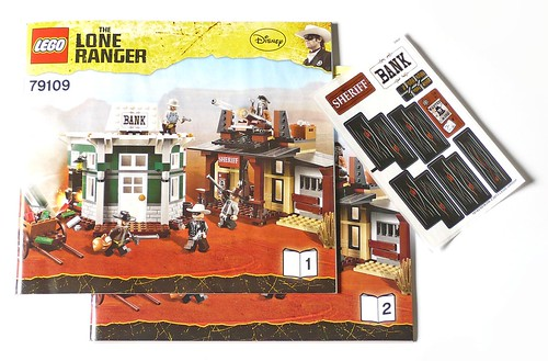 LEGO The Lone Ranger 79109 Colby City Showdown pack01