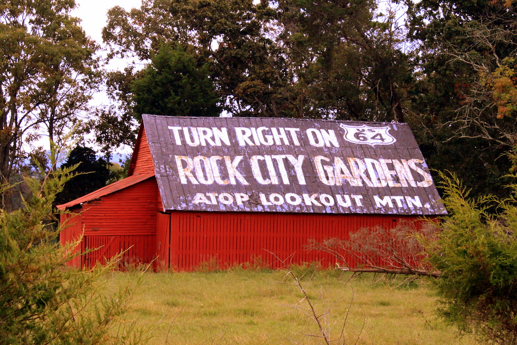 See Rock City Turn Right On Us64 Turn Right On Us64