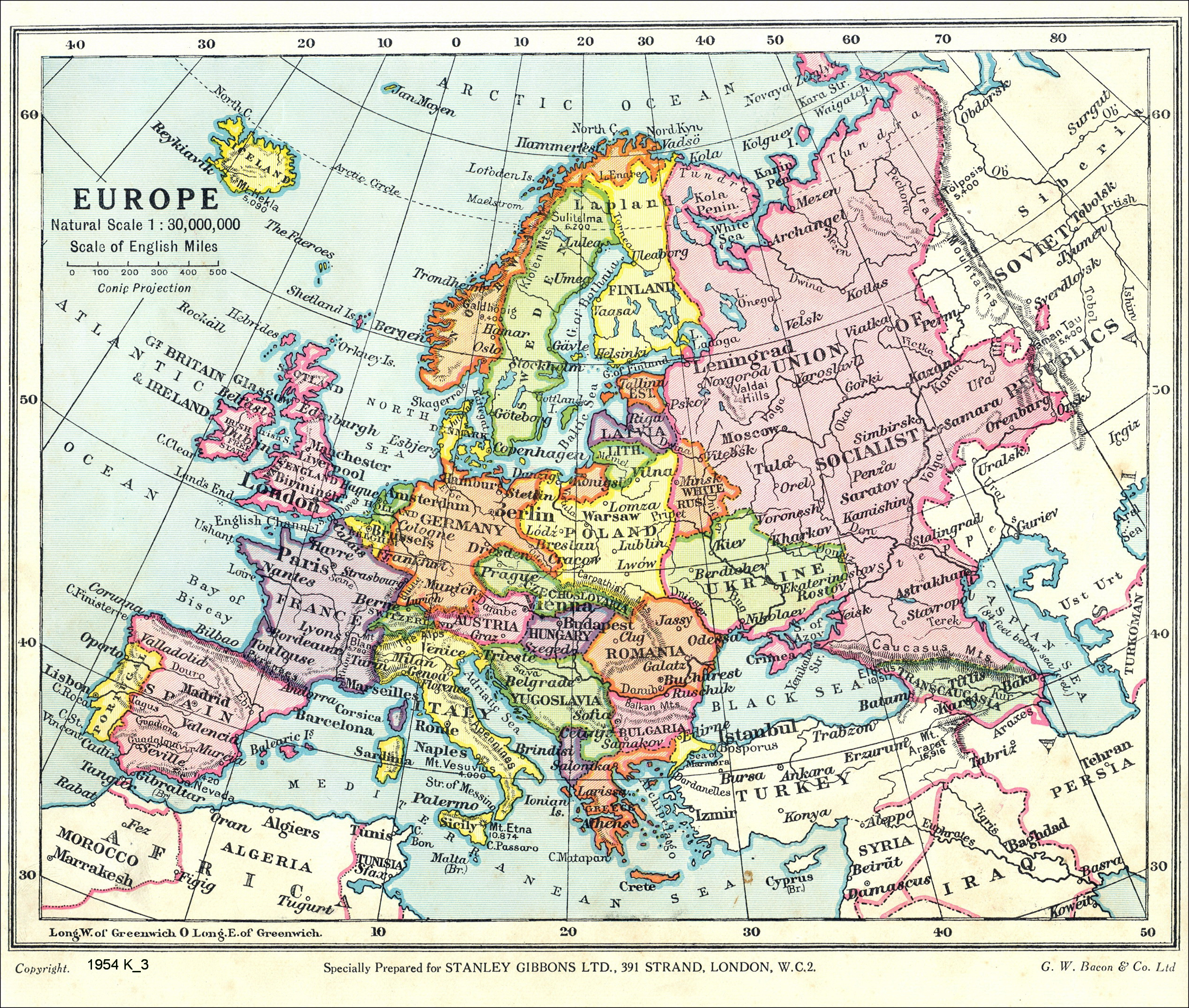 Europe old maps zoom maps europe 1936 gumiabroncs Image collections
