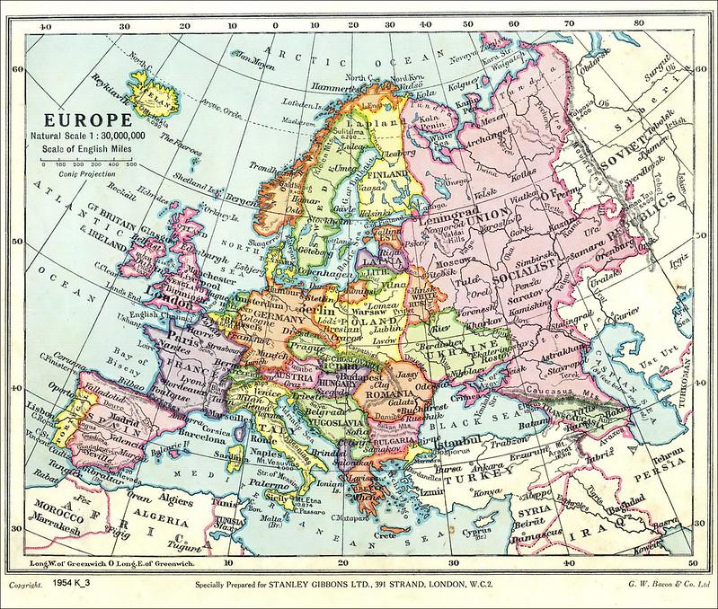 Europe, 1936