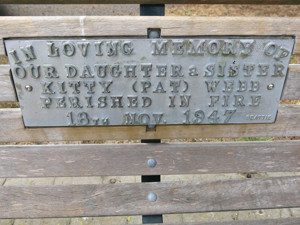 Tribute To Kitty Webb Ballantyne Memorial Rose Garden
