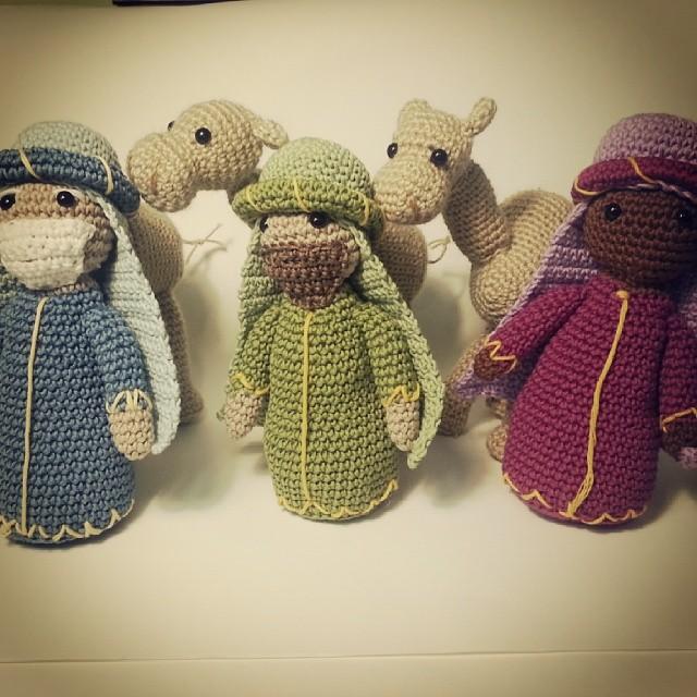 Free Amigurumi Nativity Crochet Pattern