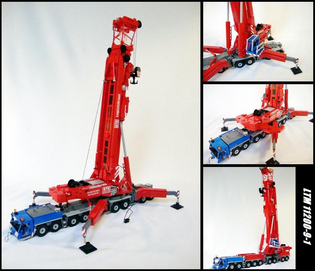 liebherr ltm11200 9 1 1 the build of this crane took me. Black Bedroom Furniture Sets. Home Design Ideas