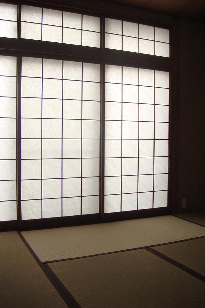 Shōji (Sliding Paper Door) | (2014/03/18 Takarazuka, Hyogo ...