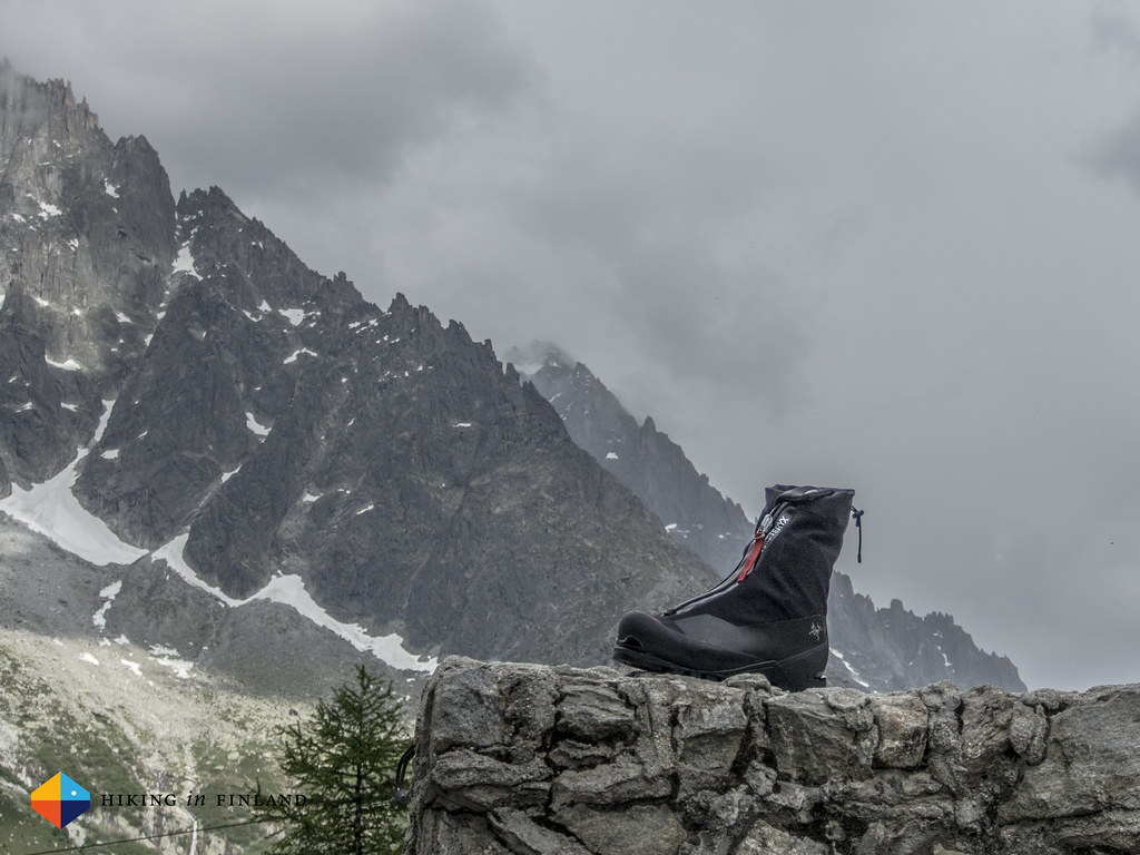 Arc'teryx Acrux AR GTX Alpine Boot in its natural Habitat