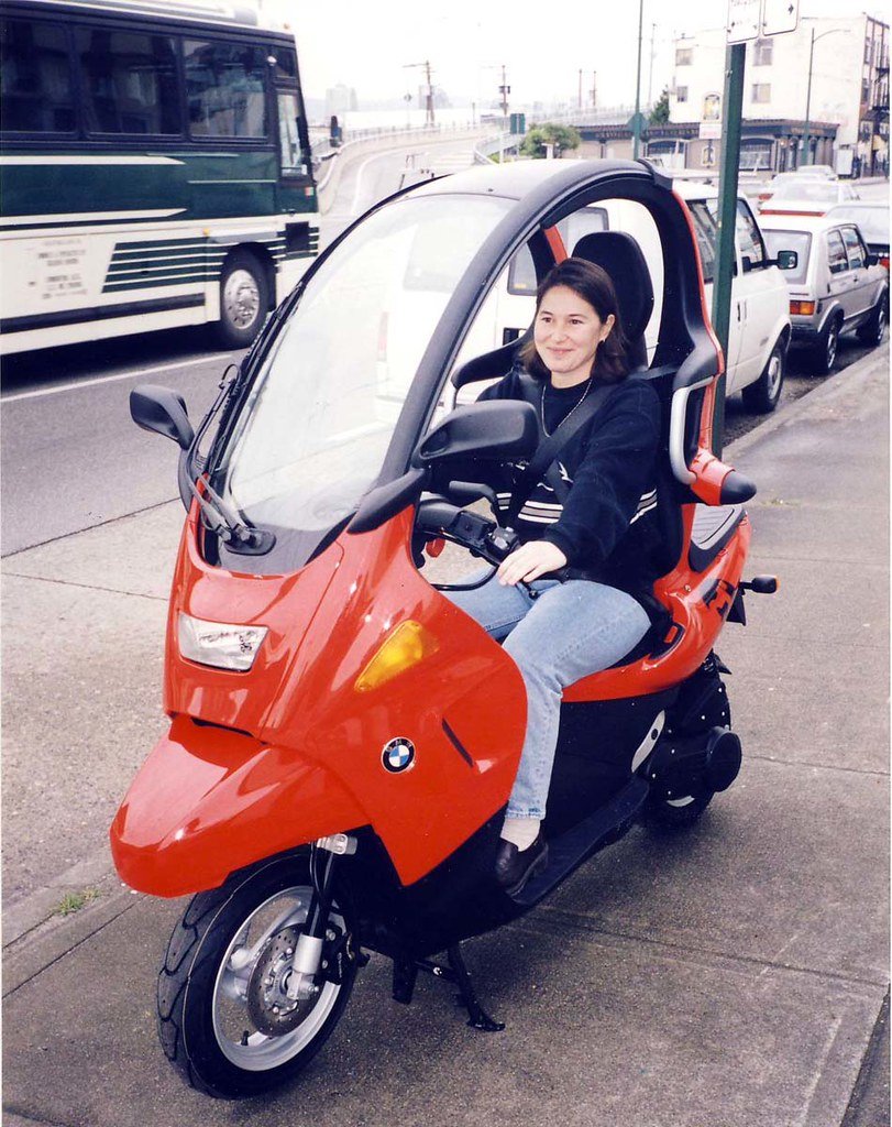 bmw c1 scooter only one in north america may 2000 vancouve flickr. Black Bedroom Furniture Sets. Home Design Ideas