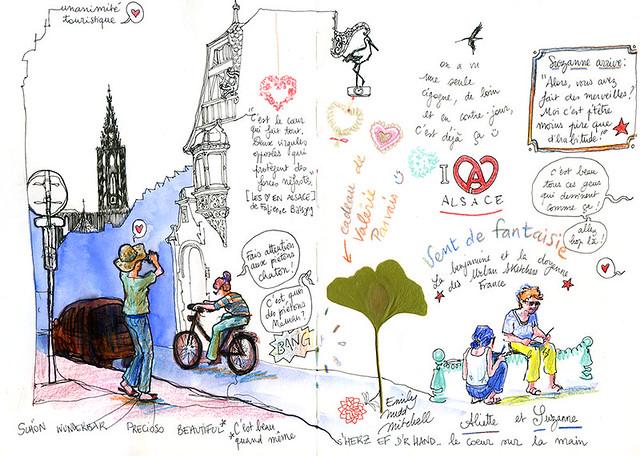 Strasbourg, mais pourquoi y a-t-il des coeurs partout en Alsace ?