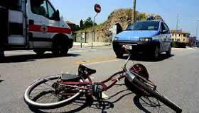 Conversano- ciclista cade in via Rosselli