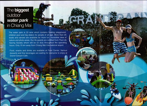 Brochure Grand Canyon Water Park Chiang Mai Thailand 2