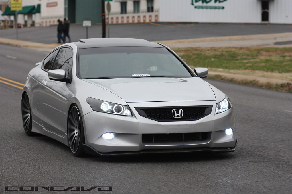 Honda Accord Coupe Cw 12 Matte Black Machined Face