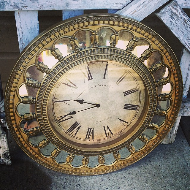 What To Sell >> This is a unique mirror clock. On the face it says Edinbur…   Flickr