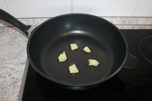 23 - Butterschmalz erhitzen / Heat up ghee