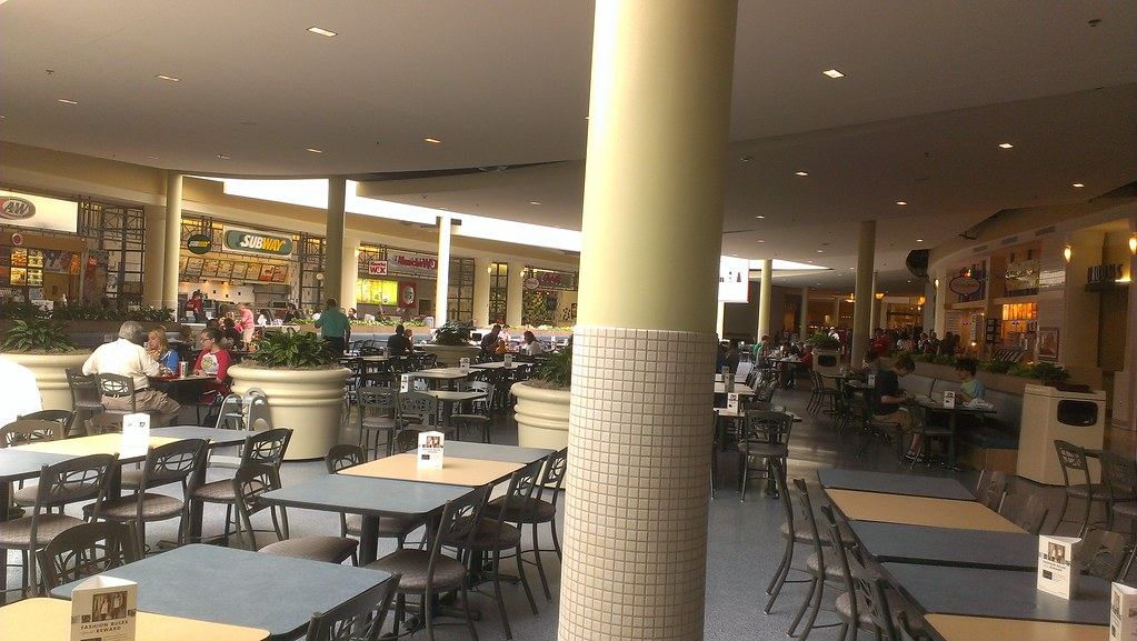 Rochester Mall Food Court