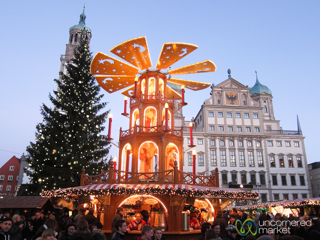 augsburg christmas market and christmas pyramid bavaria flickr. Black Bedroom Furniture Sets. Home Design Ideas