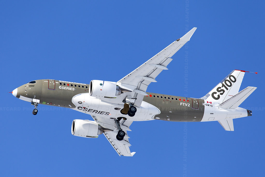U.S. hits Bombardier with almost 80% preliminary duty on CSeries aircraft