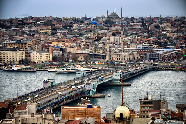 Galata Bridge, Istanbul, Turkey  Flickr - Photo Sharing!