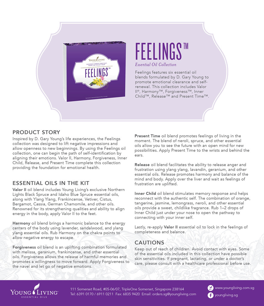 young living feelings kit application