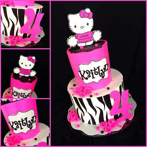 Hot Pink and zebra hello kitty | Flickr - Photo Sharing!