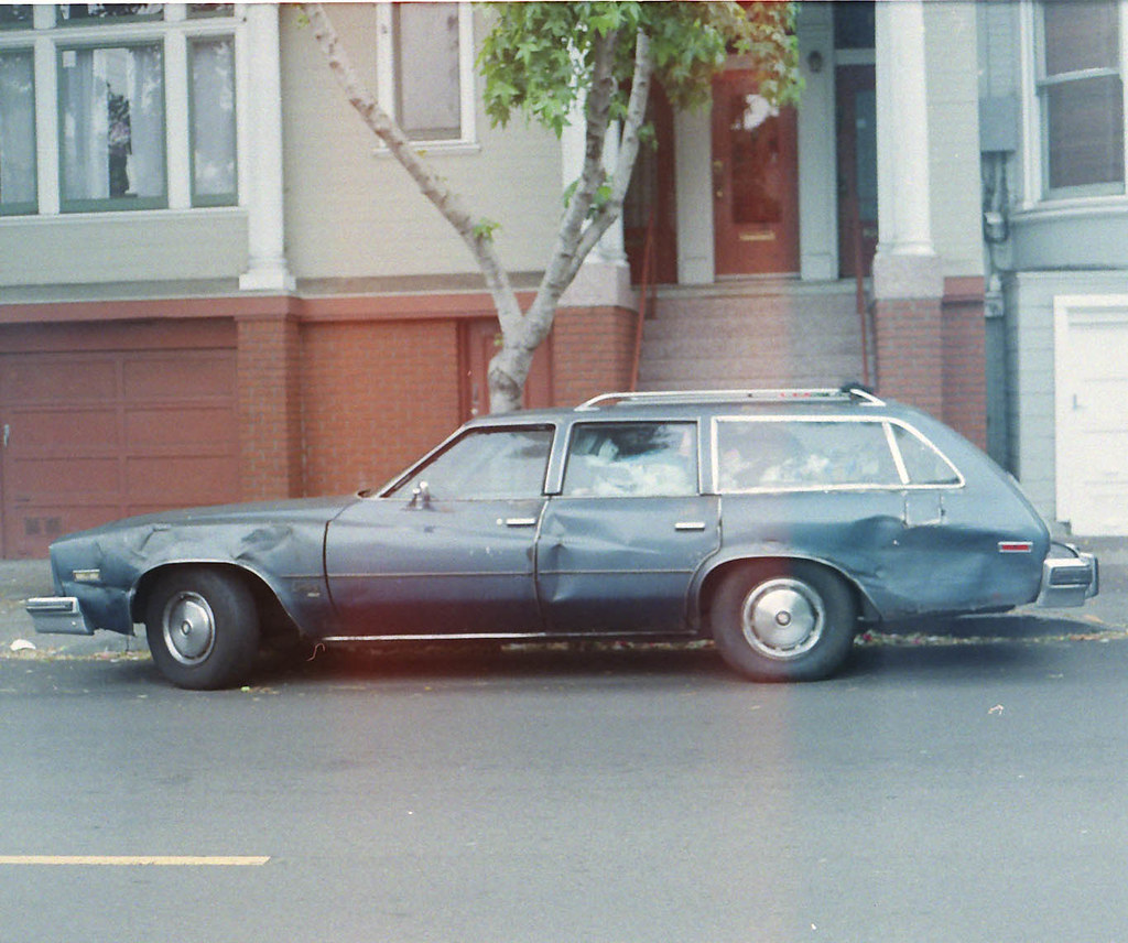 beat up old car james king flickr