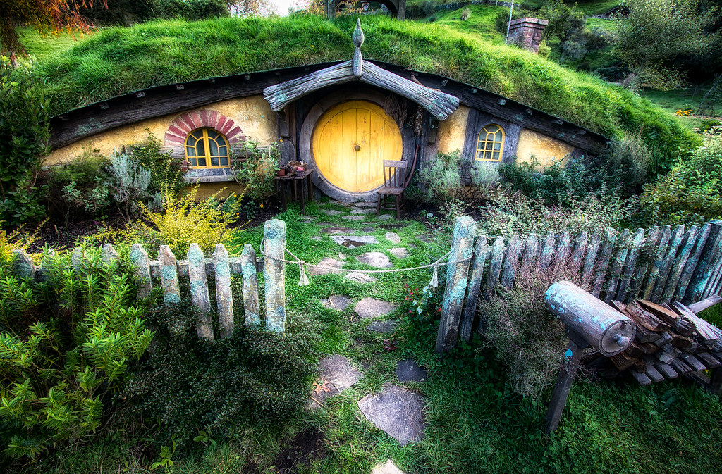 Hobbit House From Lord Of The Rings By Michael Matti Flickr