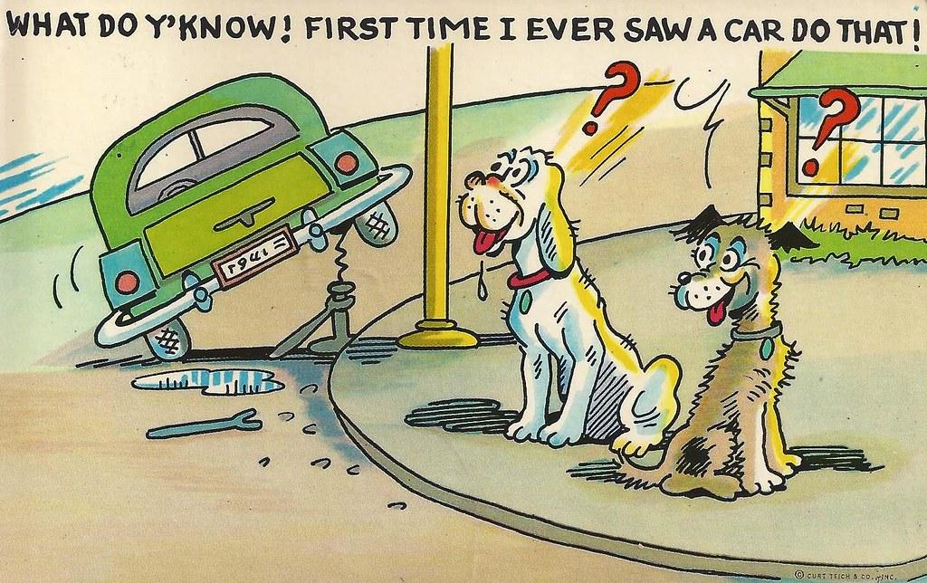 Cartoon Of Car Repair Shop