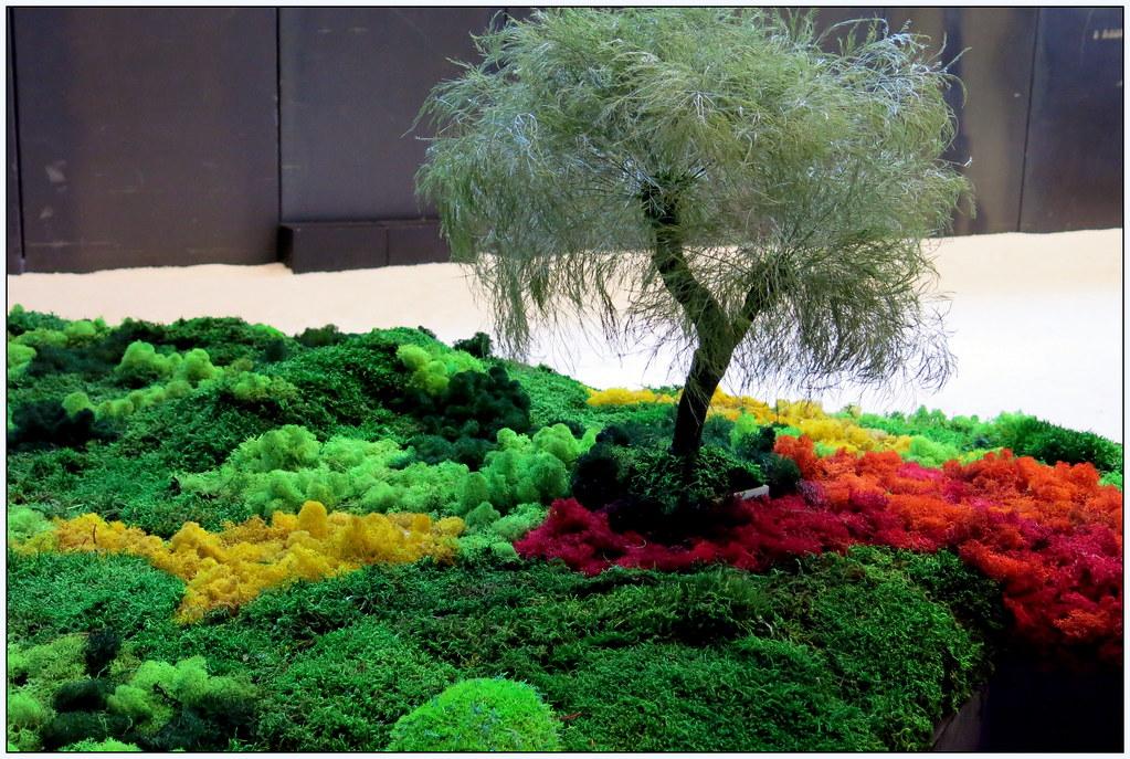 """sugerencias visuales en """"El Matadero"""" - Esther Pizarro. Un jardín japonés: topografías del vacío"""