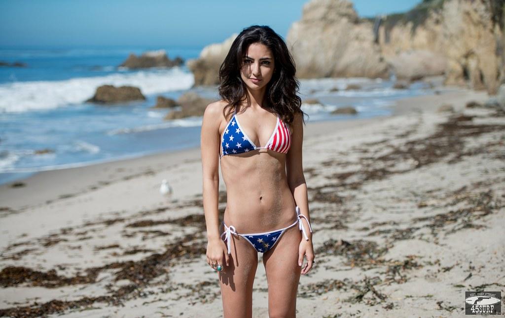 Hot Brunettes In Bikinis