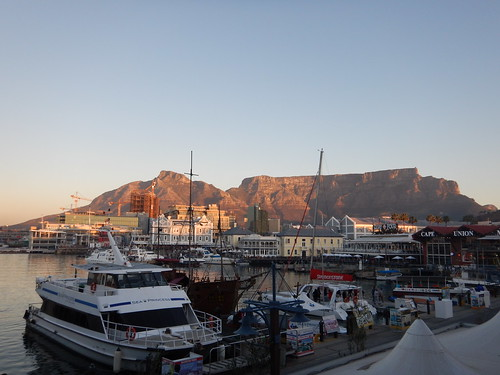 Sunset at V&A Waterfront