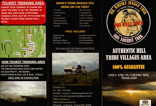 Brochure Mr Whisky Jungle Trek Chiang Mai Thailand 1