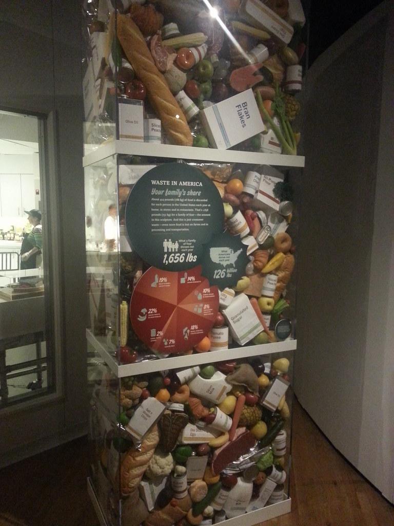 Natural History Museum Food Exhibit