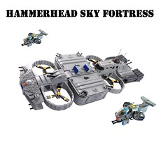 "Hammerhead Sky Fortress ""Emperor's Victory"" by Lego Admiral"