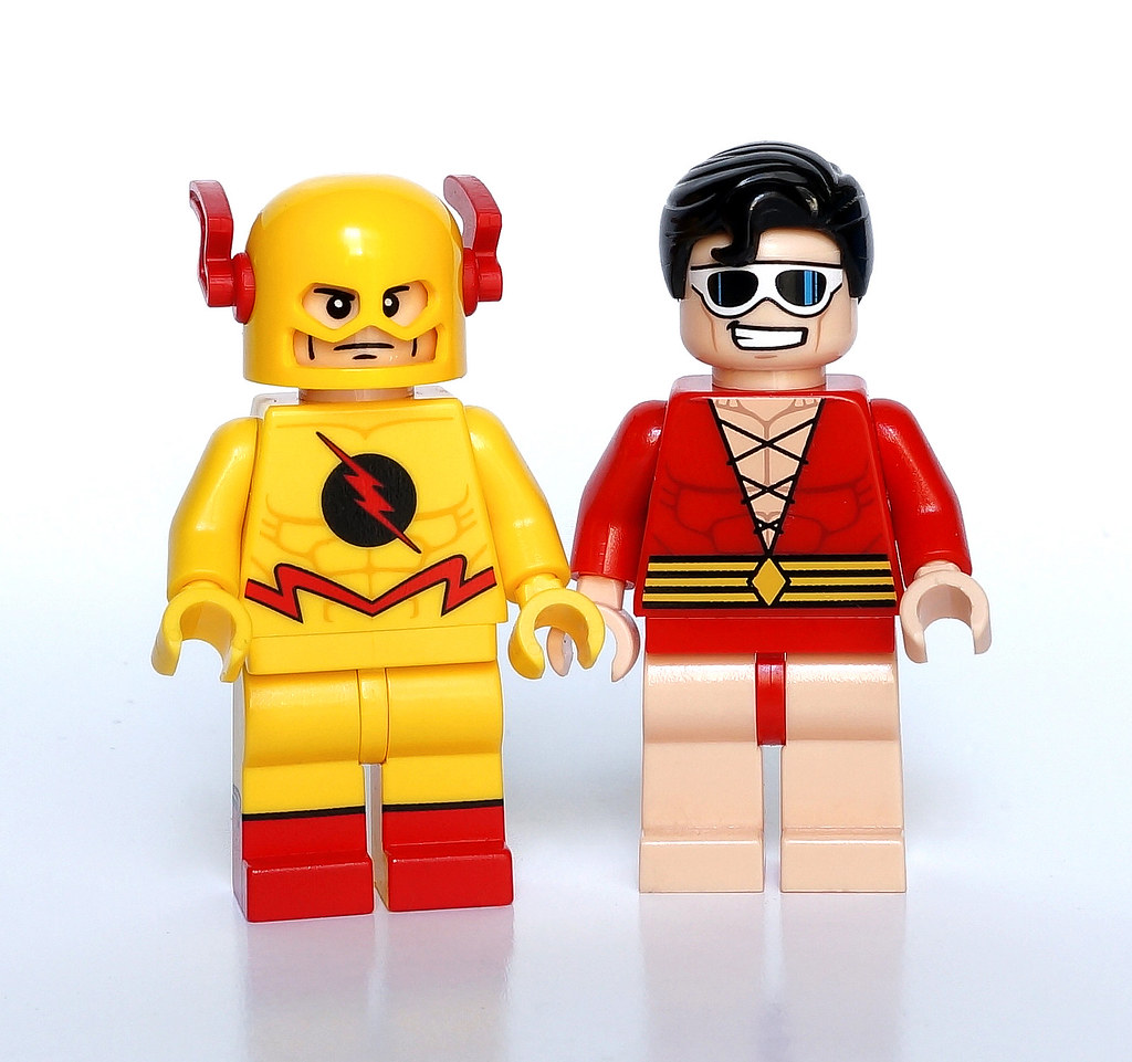 Reverse Flash & Plastic Man | These 2 minifigs are very ...
