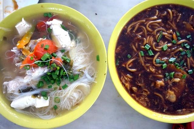melaka - dong fung restaurant -best fish head noodles